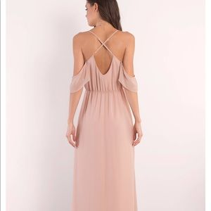 TOBI RHYTHM Rose Maxi Dress Small S